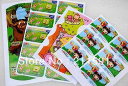 Customer Printing Children Kids Playing Toy Game Stickers ,Labels