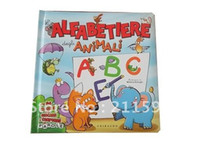 Wholesale Children Kids Alphabet Learning Hardcover Board Comic Picture Photo Book Printing