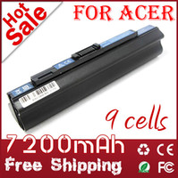 Wholesale 9 Cells Laptop battery for Acer A110 A150 D150 D250 UM08B31 UM08B52 UM08B71 UM08B72 UM08B73