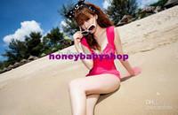 Cheap Summer Woman cake skirt one-piece bathing suit Bikini Beachwear Swinsuit Bikini Slim Swimwear