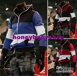 Wholesale Men s Slim Spell color Mixed colors Hoodies amp Sweatshirts Jacket Coat
