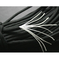 Wholesale Black core nylon strings meters tent rope nunchaku baler twine outdoor rope