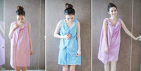 Wholesale 5 color Xmas gift warm bathrobe piece Super absorbent soft unisex bath towel