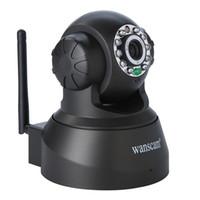 Cámara IP inalámbrica WIFI cámara de visión nocturna (hasta 10m) 10 LED IR Dual Audio Pan / Tilt IE de la ayuda S61