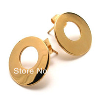 Wholesale Min Order steel earrings D trend for men and women style titanium steel earrings Ding personality