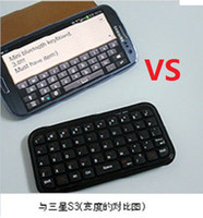 Wholesale A13 Hot selling Slim Mini Bluetooth Keyboard For Iphone Android OS PC PS3 PDA