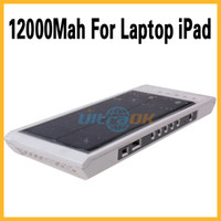Wholesale 12000Mah Portable Multi Functional Solar Power Charger For Laptop iPad Cellphone Camera