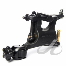 Wholesale l Black Pro Butterfly Rotary Tattoo Machine Swashdrive WHIP Kits Supply Slide Adjustment High Quality