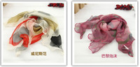 Wholesale 2013 new scarf woman spinning silk scarf scarves yarn jewelry lady lovey pattern color