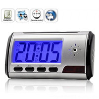 Wholesale Clock Style Digital Spy Camera with Motion Detector Remote Control Spy Clock