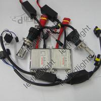 Wholesale fast shipping v w car xenon light h4 kit set bixenon hid kit