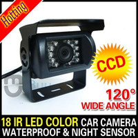 Wholesale Car Rear View Reverse Backup Parking Waterproof CCD Camera with IR LED Night vision
