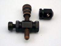 1 Piece Rotary Machine Liner & Shader Custom Tattoo Machine Brass Binding Post M4 Set Front & Rear Binder free shipping
