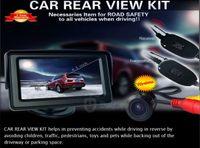 "Car Parking Sensor   Car Wireless Reverse Camera Kit 4.3"" Back Up LCD 4.3"" Digital TFT LCD Car Monitor+ Wireless Camera"