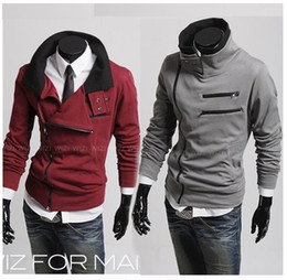 Wholesale HOT monde South Korea zipper Hoodie Rider Men s Jacket Men s Coat Sweat Shirt mens coat colours