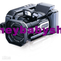 Wholesale Hot HD7000T HD7000 camera MP video camera Digital Camcorder DV long focus official configuration