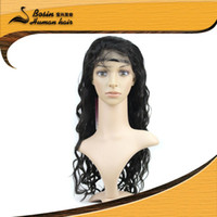 In Stock good quality Fast Delivery lace front wig indian re...