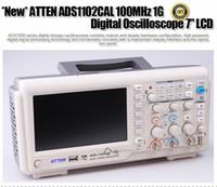 Wholesale ATTEN ADS1102CAL M Hz G Digital Oscilloscope quot LCD Digital Storage Oscilloscope S729