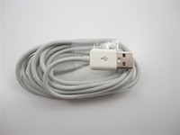 Wholesale DHL Free M ft LONG EXTENSION USB SYNC CABLE CORD FOR IPHONE IPOD white andyspeaker