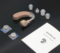Wholesale cheap Behind the EAR Sound Voice Amplifier Deaf Hearing Aid sale F