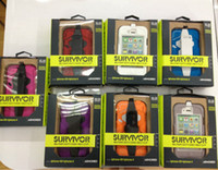 Wholesale Survivor Military Duty Cover Cell Phone iphone4s Cases iphone s gs with Belt Clip Retail packing