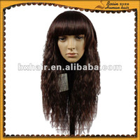Top quality 100% Remy Brazilian Hair Full Lace Wig