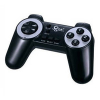 Wholesale Game Controller Curved handle btp c024 usb computer pc handle game controller