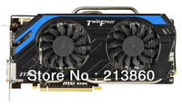 Wholesale DHL N660 hawk NVIDIA GTX G GDDR5 bit SP DirectX HDMI Dual DVI Desktop Graphics Card