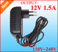 Wholesale AC adapter V V to Power supply DC V A Power adapter A switching Charger adaptor DHL