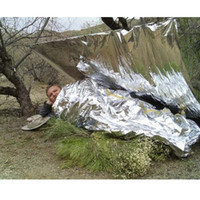 Wholesale Best Price Blanket Tent Emergency Survival Silver Thermal Rescue Water Proof x140cm
