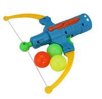 bow and arrow gun - Bow and Arrow Gun Table Tennis Outdoor Sports Play Game Kids Activity Toy