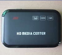 Wholesale Full HD P USB External HDD Media Player with HDMI VGA SD support MKV H RMVB WMV