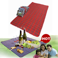 Wholesale 20 Reusable Portable Waterproof x150cm Outdoor Beach Camping Mat Picnic Blanket