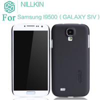 Wholesale nillkin Super Frosted Shield and screen film for Samsung I9500 S4 GALAXY SIV