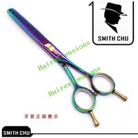 beautiful hairdressers - 5 inch Beautiful Hair Scissors Thinning scissors Colorful Hair scissors for Hairdresser JP440C