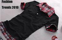 Men Cotton Polo New Mens POLO shirt Brand poloshirt cotton t-shirt for men t-shirt size:M L XL XXL hj56