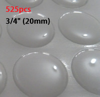 Wholesale dropping sale high quality imported pu material circle mm clear epoxy dots sticker dome resin D