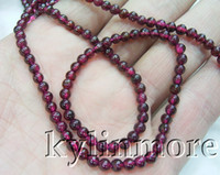 Wholesale 8SE02928a Pieces mm Natural Garnet Round Beads