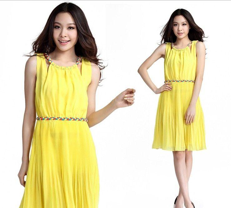 Galerry casual peach maxi dress