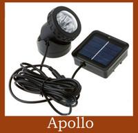 IP68 Garden  Solar Spot Light LED Garden Flash Lights White Outdoor Spotlight Waterproof Floodlight Corridor Lamp