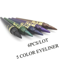 Wholesale MN Brand Makeup Waterproof Shining Emerald Color Eyeshadow pencil Eyeliner Eye Liner Pencil Make Up