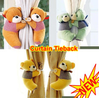 Wholesale Baby Child Infant Nursery Room Bedroom Animal Curtain Tieback Tie Back Decor Holder Buckle Hooks Toy