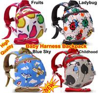 Wholesale Baby Toddler Infant Kids Keeper Nursery Safety Harness Backpack Strap Rein Belt Leash Shoulder Bag