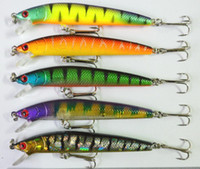 Wholesale Super price color CM G Rapala style long Minnow fishing hard bait plastic fishing lure