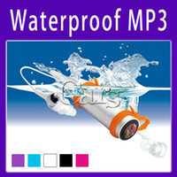 Sports No FM Radio 4GB Waterproof MP3 Player for Water Sports Enthusiasts or Shower Fanatics with FM