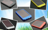 Wholesale 2600mAh Solar Charger Portable USB Solar Power Charger For Mobile Phone MP3MP4 PDA