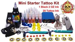 Wholesale NEW Complete Tattoo Kit Machine Equipment Set Starter Guns Supply US Plug YLT