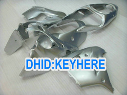 Silver Fairing kit for 00 01 ZX-9R Ninja ZX9R 2000-2001 motorcycle ABS aftermarket fairings