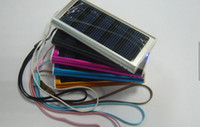 Wholesale Solar Charger for Mobile Phone MP3 MP4 Camera PDA Portable Solar Battery Power Panel Charger