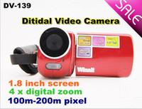 Wholesale DV DV139 LCD Digital Video Camera MP With LED Flash Light X Zoom MP Sample Sale